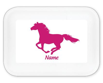 Pferde Brotdose groß