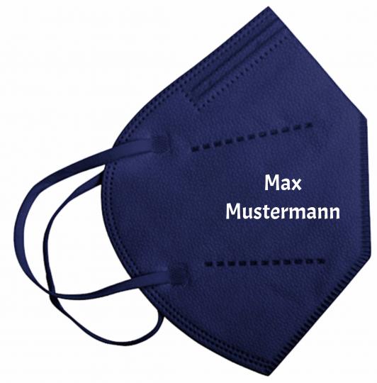 FFP2-Maske marineblau