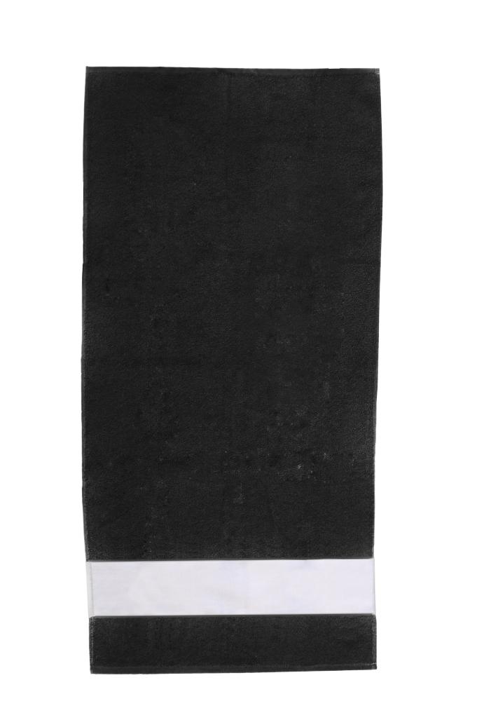 duschtuch mit bord re selber gestalten dusch handtuch. Black Bedroom Furniture Sets. Home Design Ideas